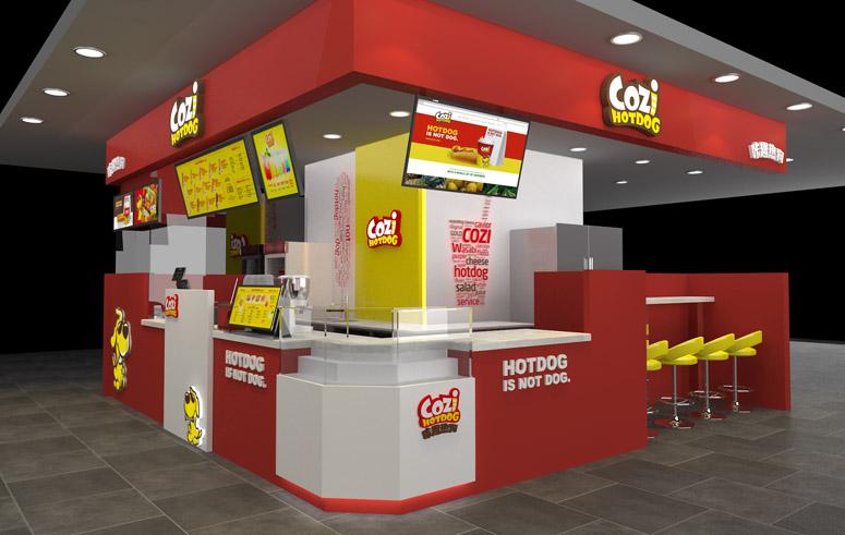 上海美御设计|专卖店设计公司|食品专卖店设计|餐饮店