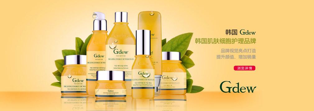 韩国Gdew化妆品   品牌全案策划定位   打造韩国机能护肤第一品牌
