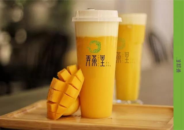文艺范十足的茶饮店品牌设计