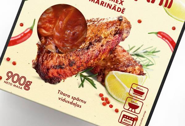食品品牌的品牌和包装设计