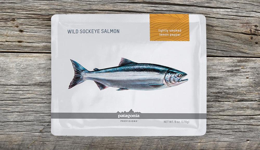 美国鲑鱼包装设计_海鲜包装设计欣赏