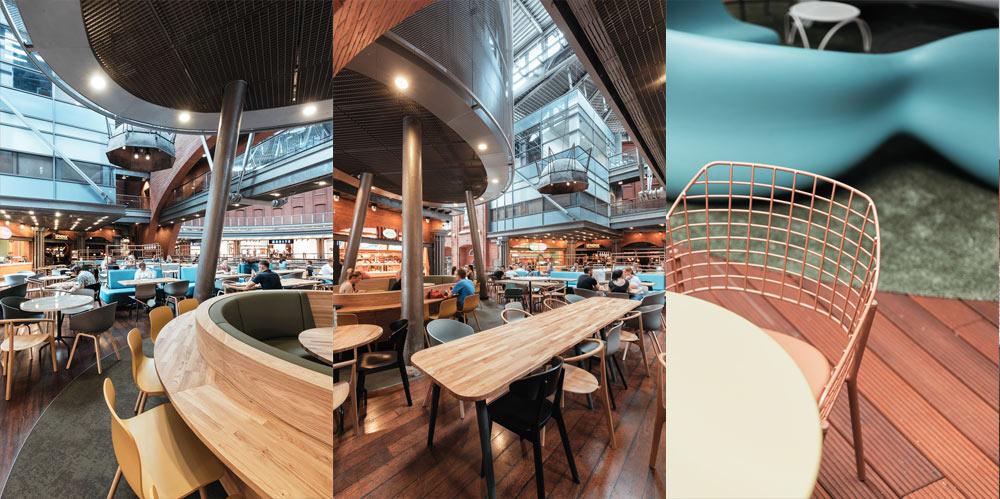 餐厅装修设计,时尚餐厅设计欣赏