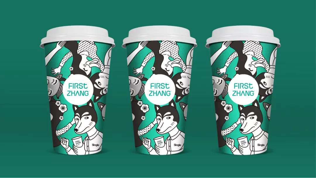 港式茶饮品牌形象VI设计_奶茶品牌设计_奶茶店设计公司