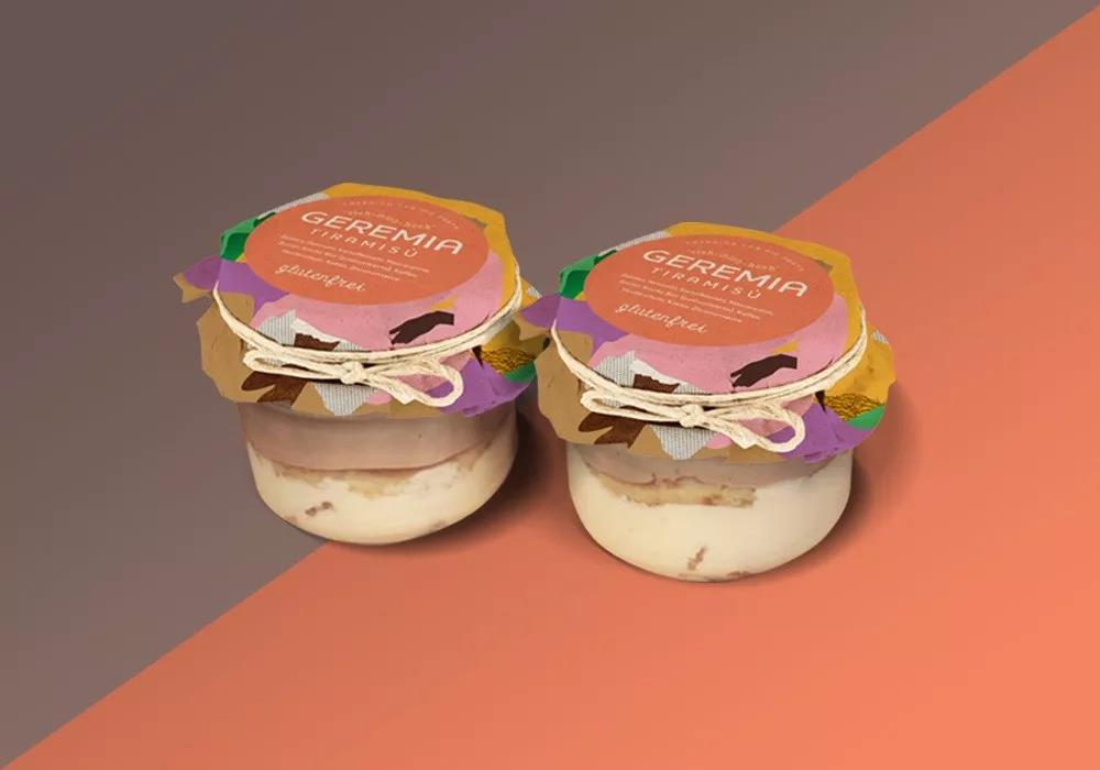 活力满满的甜品店品牌形象VI设计_甜品品牌设计