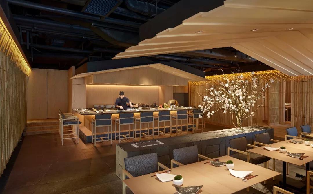美到窒息的日料餐厅设计_餐饮品牌设计