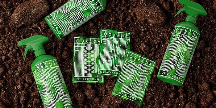 天然杀虫剂包装设计