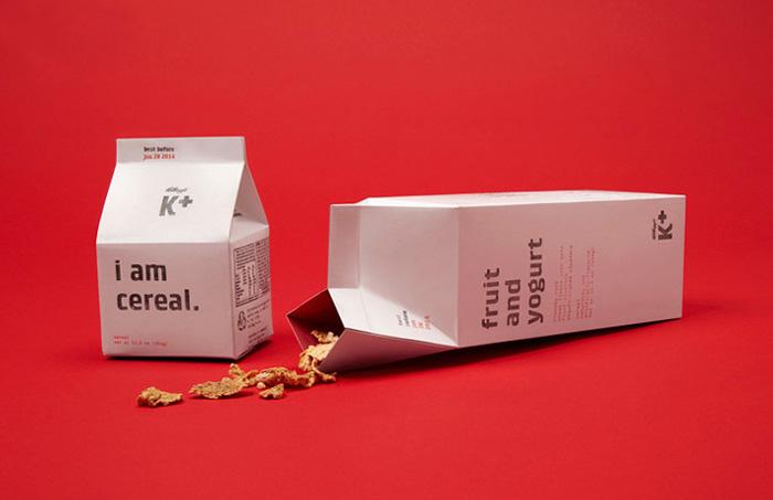家乐氏 燕麦包装设计欣赏 包装设计图片