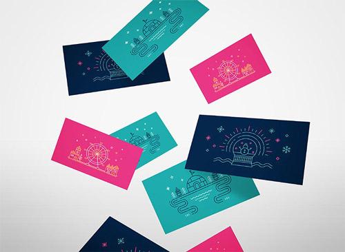 圣诞卡片设计|平面设计|卡片设计欣赏