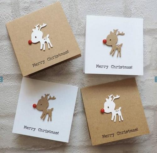 分享一些圣诞卡片设计