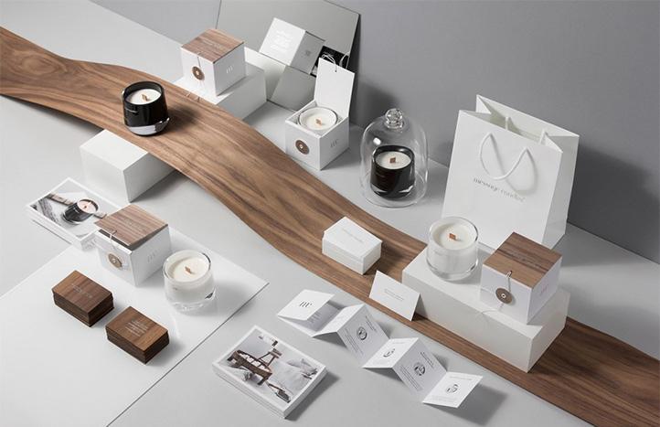 创意的蜡烛包装设计欣赏图片