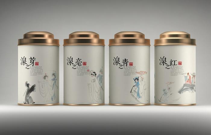茶叶包装设计新颖时尚
