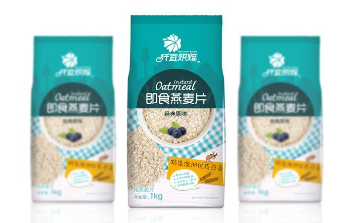 燕麦包装设计