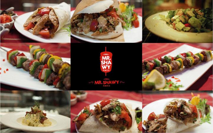 肉卷西餐品牌设计