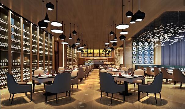 各种各样的餐厅餐馆也是数不胜数,更是有大量的西餐品牌涌入中国,西餐