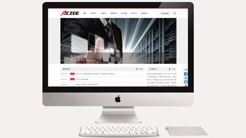 ACZOE网站设计