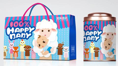 食品包装设计,诞生礼包装设计
