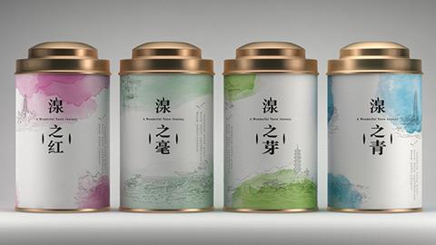 三泉食品茶叶包装设计
