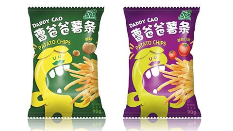 薯条包装设计,食品包装设计
