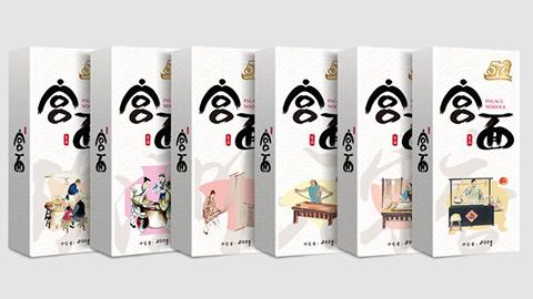 宫面食品牌包装设计