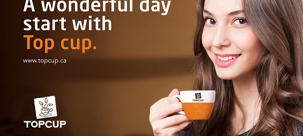 TOPCUP咖啡品牌设计项目