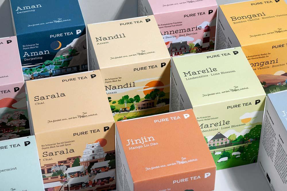 农产品茶叶包装设计_有机茶叶包装设计