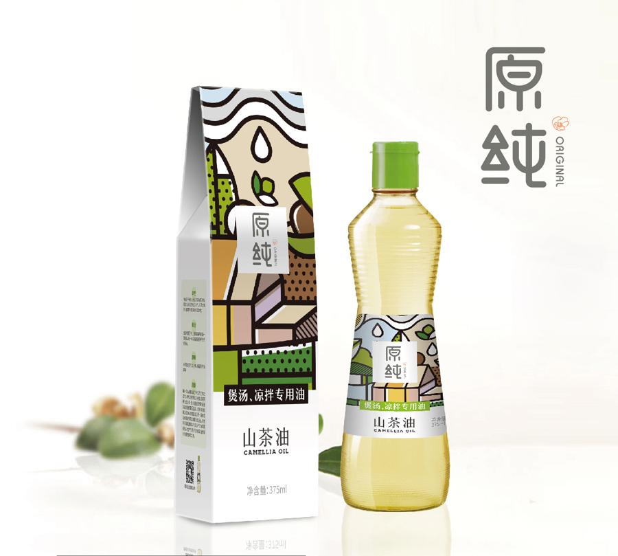 山茶油品牌设计完成