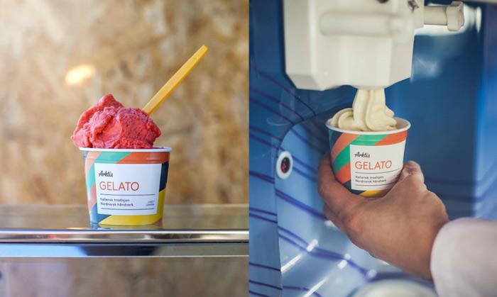 冰淇淋品牌vi设计欣赏