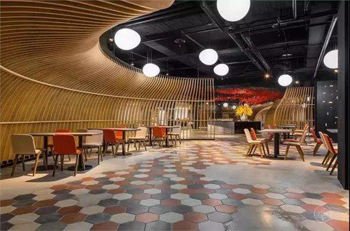 超有质感的餐厅设计欣赏