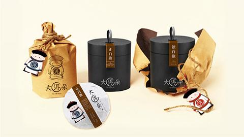 大洱朵茶饮品牌包装设计