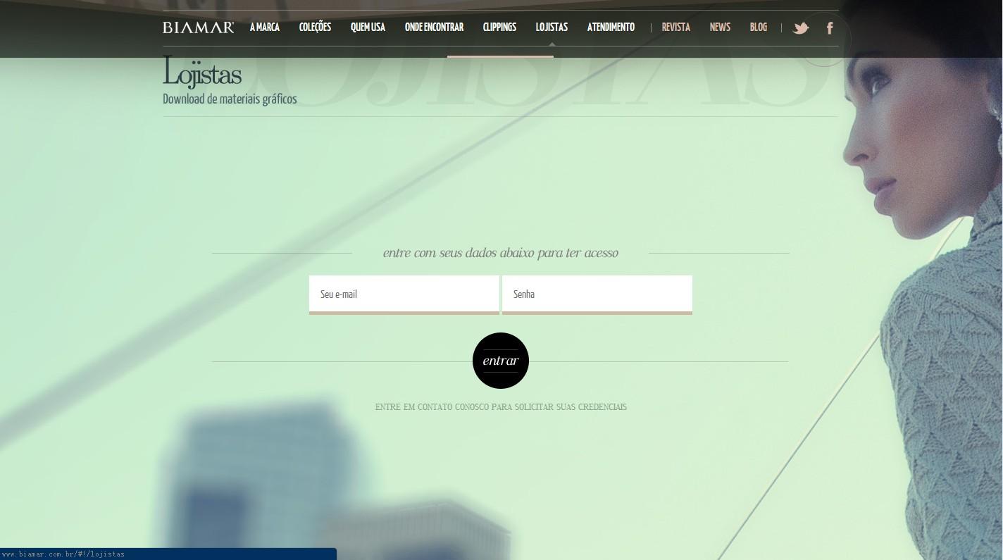 国外一套时尚服装网页设计|美御品牌设计