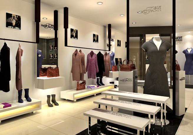 诗凡吉羽绒服_服装品牌设计_服装专卖店设计 | 美御品牌设计